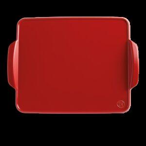 EMILE HENRY plancha da forno rossa - 42x31