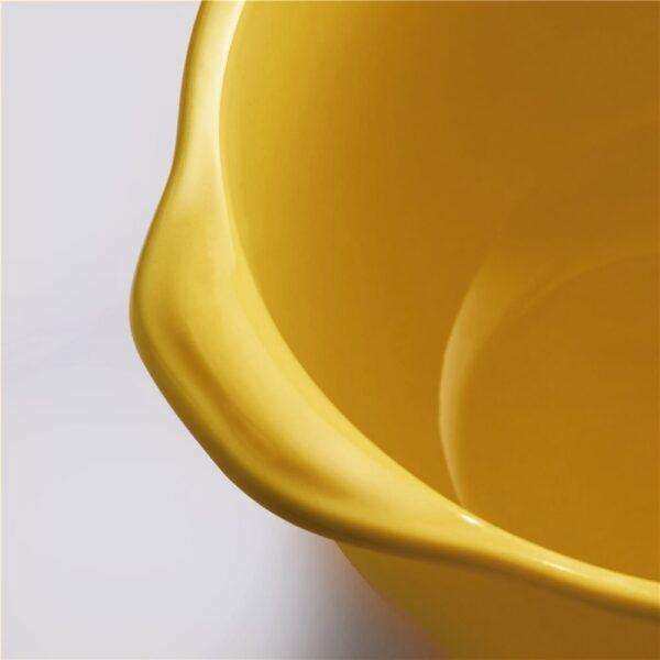 Bol à gratinée Emile Henry, colore Amarillo